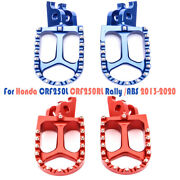 Motor Wide Mx Foot Pegs Footrests For Honda Crf250l Crf250rl Rally/abs 2013-2020