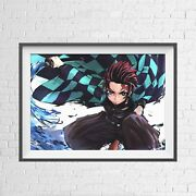Demon Slayer - Anime Manga Poster Picture Print - Sizes A5 To A0 New