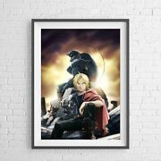 Fullmetal Alchemist - Anime Manga Poster Picture Print - Sizes A5 To A0 New