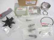 Yamaha New Oem Water Pump And Impeller Repair Kit 61a-w0078-a3-00