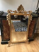 Gorgeous Hand Carved Italian Mirror Hollywood Regency