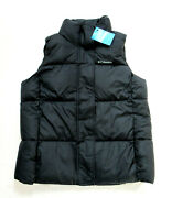 Womens L Columbia Pioneer Summit Puffer Insulated Vest Jacket New With Tag
