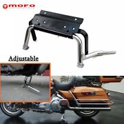 Adjustable Center Stand For 1999-2008 Harley Touring Road King Cvo Road Glide