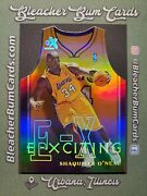 🔥1999-00 Skybox Ex E-xciting Die-cut Holo Insert 5 Xct Shaquille Oand039neal Shaq🔥