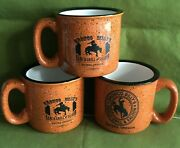 3 Mugs Bronco Billy's Ranch Gill And Saloon Sisters Oregon 21-1041