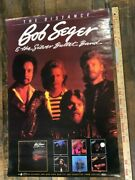 Vintage Poster Bob Seger And The Silver Bullet Band The Distance Album Promo