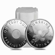20 Oz. Silver Rounds - Sunshine Minting - .999 Fine