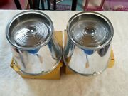 Plymouth 1957 Tail Lights Back Up Lower Lenses Pair Glo Brite New 2l5751...