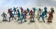 Vintage Mixed Lot Of Tim Mee Mpc And Marx Asronauts Navy And More Toy Figures P