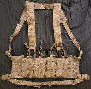 New Aor1 First Spear Molle Scar H Molle Chest Rig 6/12 Pouch Sof Cag Seal Devgru