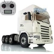Radio Metal Chassis Hercules Scania Abs Cabin Lesu 1/14 Rc 88 Tractor Truck