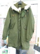 M65 Us Army Mod Fishtail Parka New Medium And Ecw Liner And Winter Hood Ace