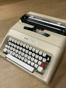 Olivetti X Typewriter Lettera 35 Matter Such As Instruction Manual0779jt