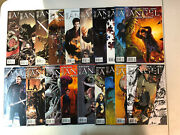 Angel After The Fall From Buffy/vampire 2007 1 2 4-39 42 43 44 Vf/nm Set Idw