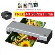 A4 Hot Laminator Laminating Machine For A4 Document Photo Blister Packaging