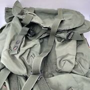 Us Army Issue Alice Large Ruck Pack And Frame Straps Complete Checked