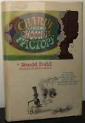 Roald Dahl Charlie And The Chocolate Factory 1st First Print 6 Line Dj 1963