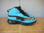 2012 Youth 6.5y Nike Air Max Ken Griffey Jr Turquoise Athletic Shoes 443965-046