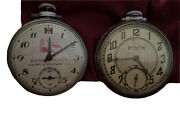 2 Vintage Pocket Watches Ingraham And Other
