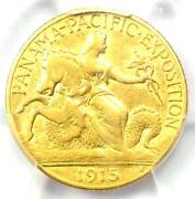 1915-s Panama Pacific Gold Quarter Eagle 2.50 Coin - Certified Pcgs Xf40 Ef40