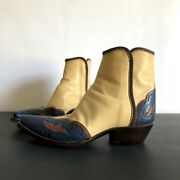 Tres Outlaws Handmade Western Cowgirl Boots Size 7.5 B
