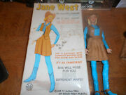 Louis Marx And Co. Jane West Movasble Cowgirl -- Original Box W/accessories