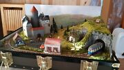 Briefcase Railway Layout With Train In H0m Scale By Mountain Lake Model Railways
