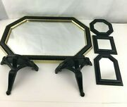 Lot Of 6 Vintage Home Interior Mirrors And Wall Shelves