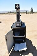 Used Wilson Rockwell Instron C504 R Hardness Tester With Lista Cabinet