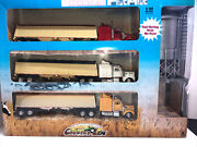 Newray Country Life Kenworth Grainer Set With Working Grain Bin Tower 143 Scale