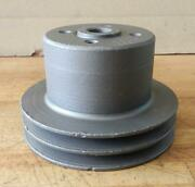 Clark Forklift Continental Engine Used Water Pump Pulley F162k34111 5 Diameter