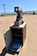 Used Wilson Rockwell Instron C503 T Hardness Tester With Lista Cabinet