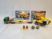 Lego City Town 4203 Excavator Transport - Complete, Minifigures, Instructions