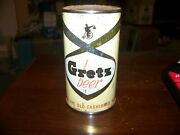 Tough Gretz Red Letter Flat Top Beer Can