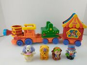 Fisher Price Little People Zoo Circus Animal Figures Train Playset Sound Moves