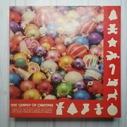 Vintage Puzzle Springbok The Shapes Of Christmas 600+ Piece Jigsaw Baubles