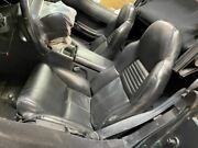 94 Chevrolet Corvette Convertible Used Left And Right Manual Black Bucket Seats