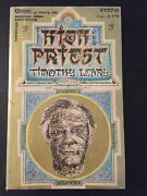 High Priest Book, Timothy Leary, Lsd, 2nd Printing, Very Good Condition Oop