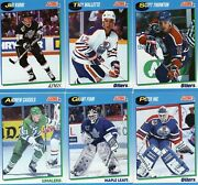 1991-92 Score Series 2 -- Canadian -- Singles 501 To 660