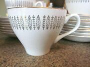 Royal Staffordshire Royal Knight 22k Huge Lot Of 9 Cups And 15 Saucers England