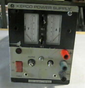 Kepco Series Jqe Power Supply 0-6 Volts/0-10 Amps Model Jqe 6-10 M