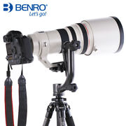Second Hand Benro Gh2 Panoramic Head W Pl100 Plate Tripod Head For Dslr Camera