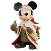 Jim Shore Disney Traditions Mickey Mouse Big Fig Statue Very Rare