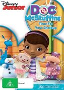 Doc Mcstuffins - Time For Your Check-up Dvd Region 4 New Free Post In Australia