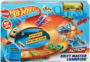Hot Wheels - Drift Master - Hill Climb - Rapid Raceway Champion - Playsets