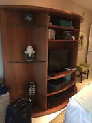 Wall Unit / Entertainment Center 80' X 80 X 28 Made In France By Roche Bobois