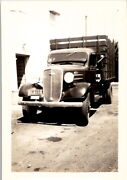 Original Vintage Photograph 1900and039s Classic Car Delivery Truck Chevrolet Ford