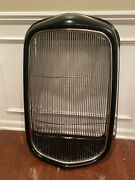 1932 Ford Hot Rod Steel Radiator Grill Shell + Smooth Stainless Grille Insert