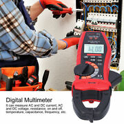 My2020d Clamp Meter Multimeter Automatic Ac/dc Volt Current Tester Lcd Display