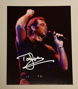 Tom Jones Singer Autographed Photo 8 X 10 Comes With A Coa New